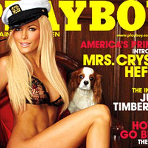 «L'épouse en fuite» de Hugh Hefner, en Une de Playboy