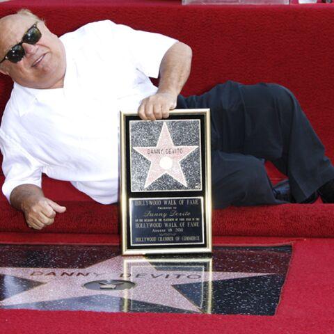 Danny DeVito s'impose sur Hollywood Boulevard