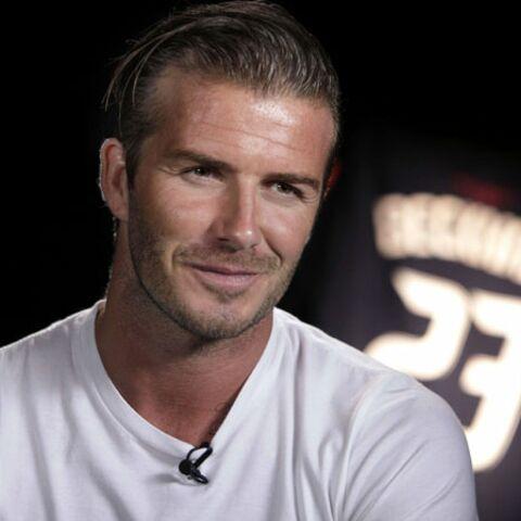 David Beckham in love de sa fille