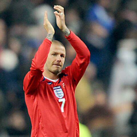 David Beckham: le cœur sur les crampons