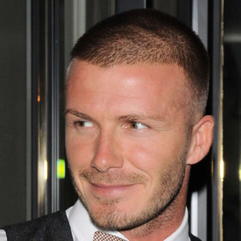 David Beckham se jette à l'eau…