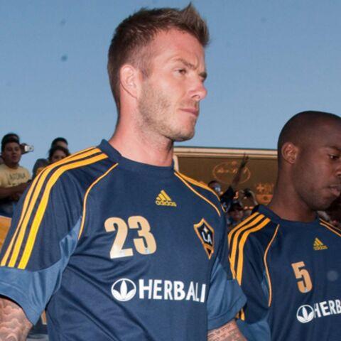 David Beckham: «Touche pas à ma femme!»