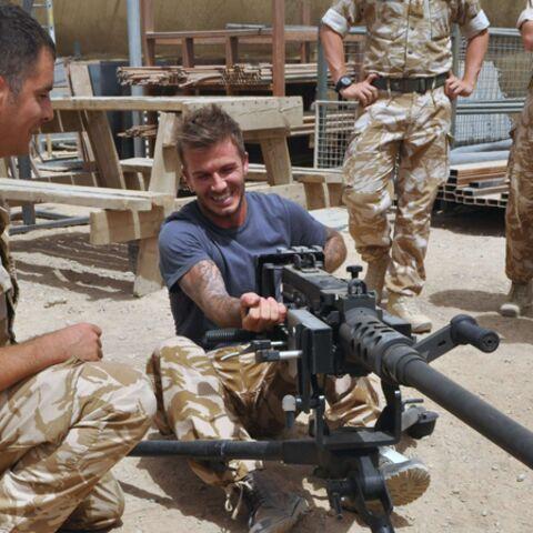 David Beckham: sa visite en Afghanistan