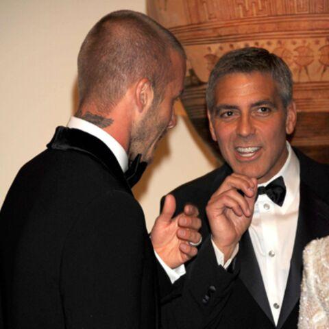 David Beckham, dans les draps de George Clooney