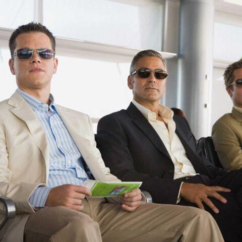 George Clooney, Brad Pitt et Matt Damon au festival des canulars