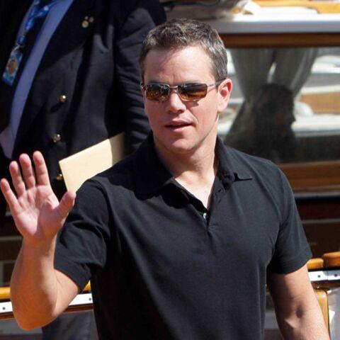 Scoop: Matt Damon fait la rentrée avec sa fille!