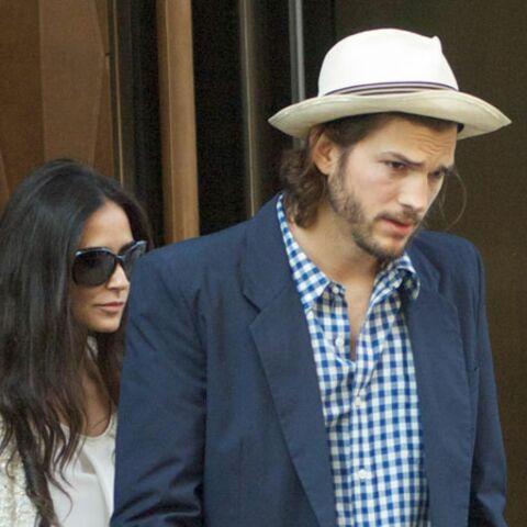 Demi Moore et Ashton Kutcher: clap de fin?