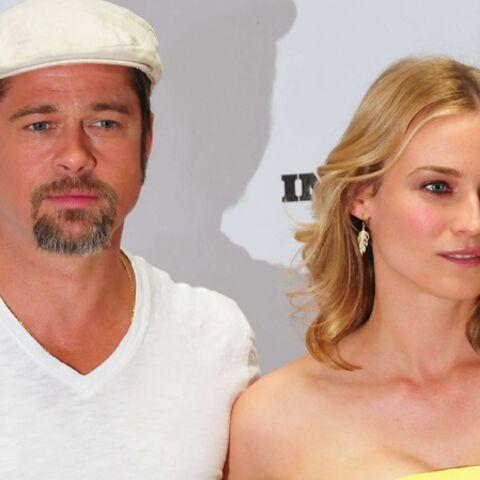 Diane Kruger torturée par Brad Pitt? Elle adore!