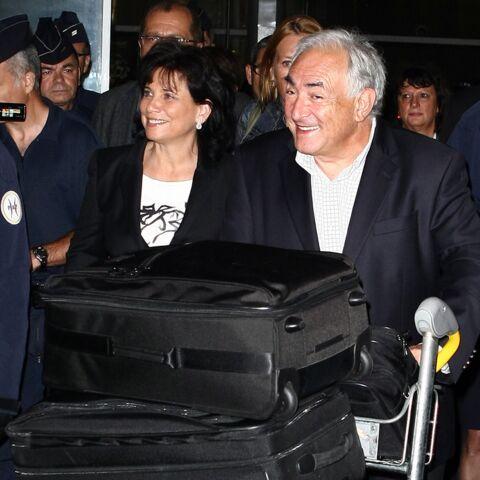 Dominique Strauss-Kahn et Anne Sinclair: retour très médiatique à Paris