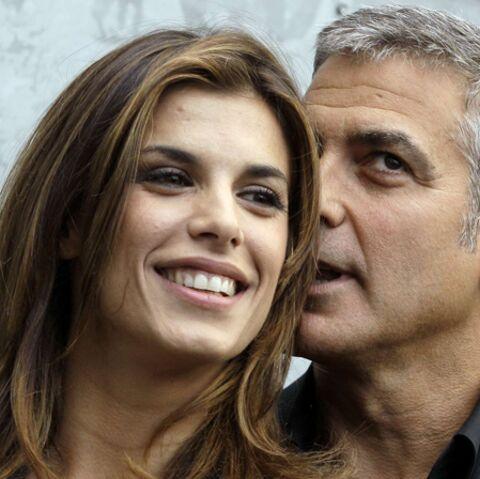Elisabetta Canalis et George Clooney, à crocs?