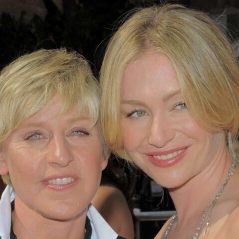Ellen DeGeneres, heureuse!