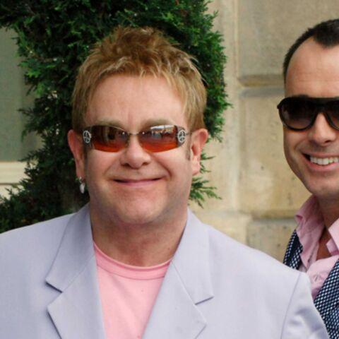Elton John s'éclate avec son mari!