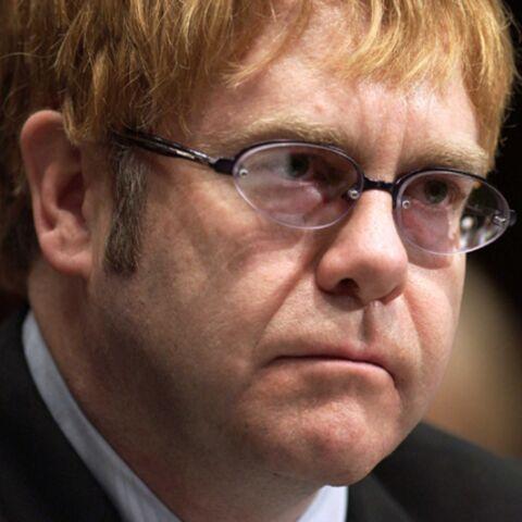 Elton John au repos forcé
