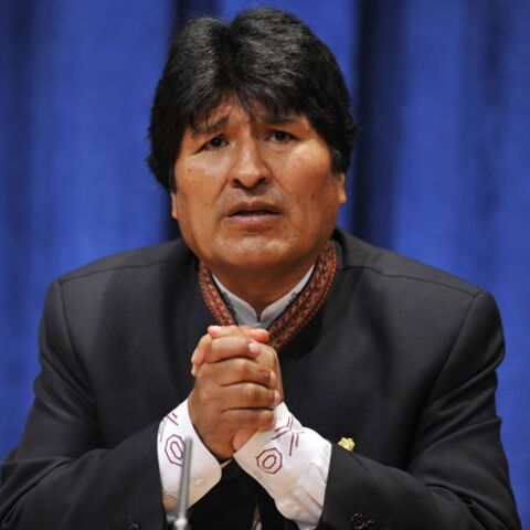 Evo Morales et le coup des cojones