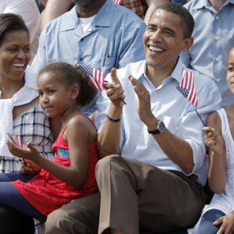 Barack Obama élève ses filles à la dure