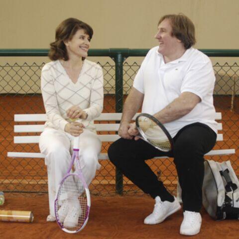 Fanny Ardant et Gérard Depardieu en couple