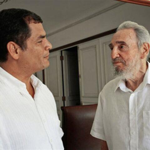 Fidel Castro sort de l'ombre