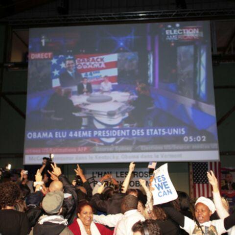 En Ile de France c'est la fiesta pour Obama