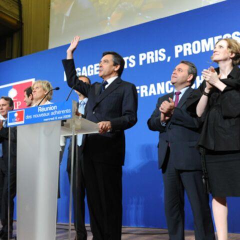 François Fillon, Christine Lagarde, NKM et Rama Yade ont concocté un anniversaire surprise au Président