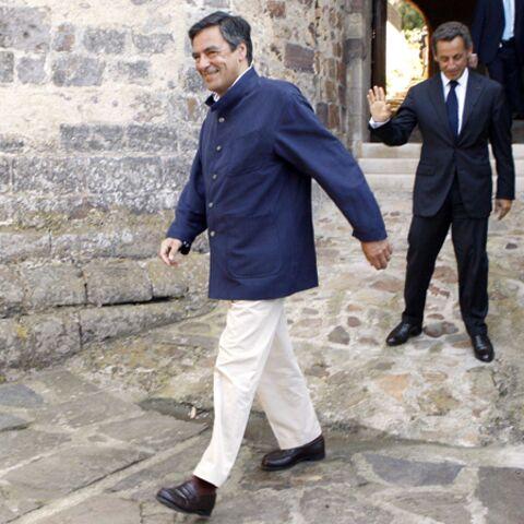 Quand François Fillon met une veste au Président