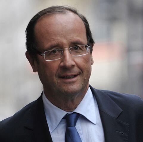 François Hollande déjà concentré… sur le match des Bleus