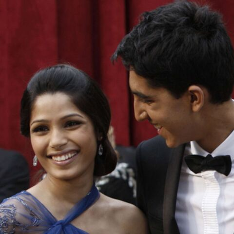 Freida Pinto et Dev Patel, in love millionaires