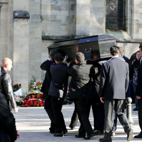 Stars et anonymes aux funérailles de Guillaume Depardieu