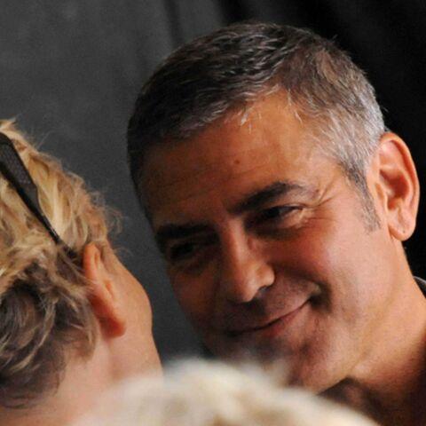 George Clooney, dévergondé par sa partenaire de jeu