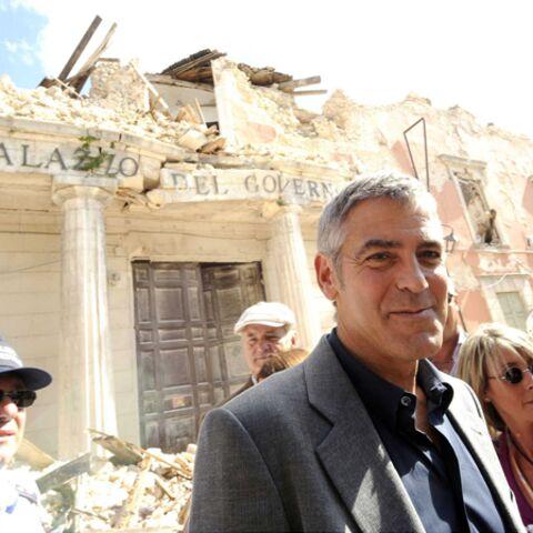 George Clooney à la rescousse de l'Aquila