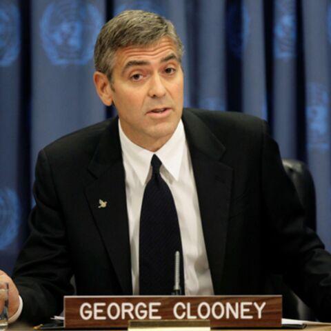 George Clooney à la tribune de l'ONU