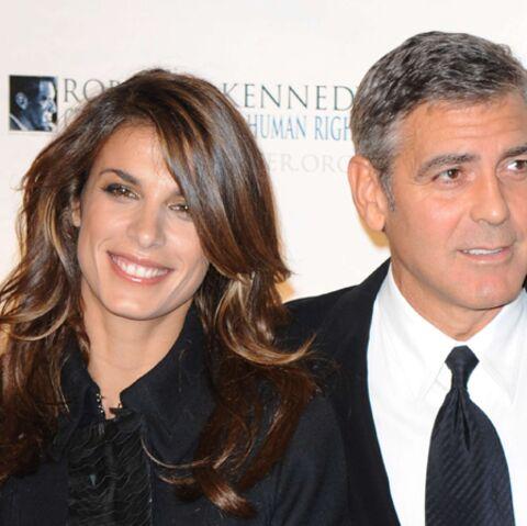 George Clooney et Elisabetta Canalis: «Nous ne sommes plus ensemble»