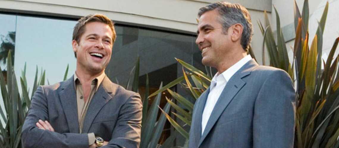 George Clooney et Brad Pitt vont à Venise