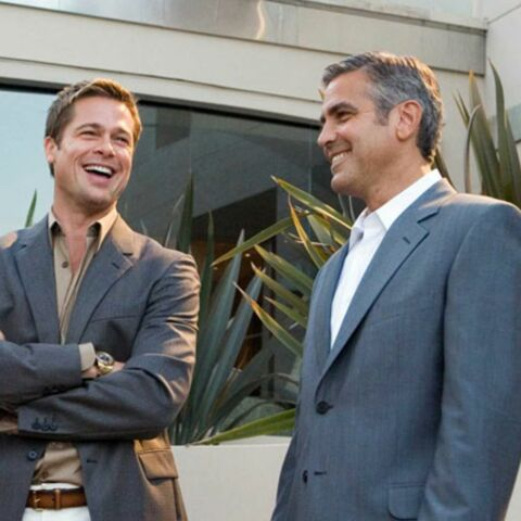 Brad Pitt et George Clooney au Festival de Toronto