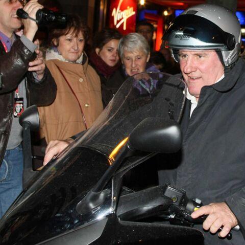 Gérard Depardieu, gréviste malgré lui