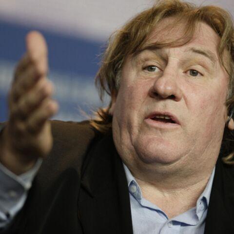 Besoin pressant dans un avion, pour Gerard Depardieu
