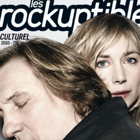 Gérard et Julie Depardieu: leur festin nu