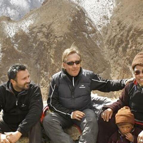 Gilbert Montagné découvre les sommets de l'Himalaya