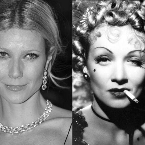 Gwyneth Paltrow se glisse dans la peau de Marlene Dietrich