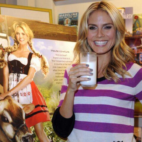Heidi Klum: son show haute «cow»ture…