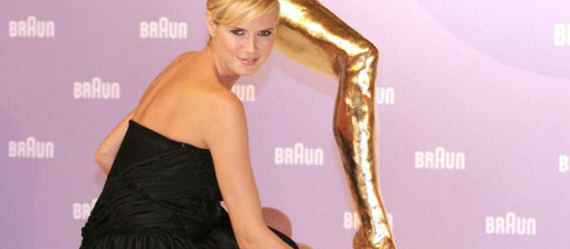 Les jambes d'Heidi Klum ne se valent pas