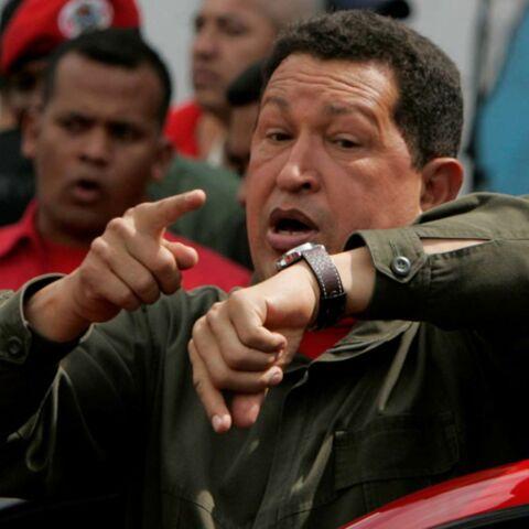 Hugo Chávez chronomètre la toilette de ses ouailles