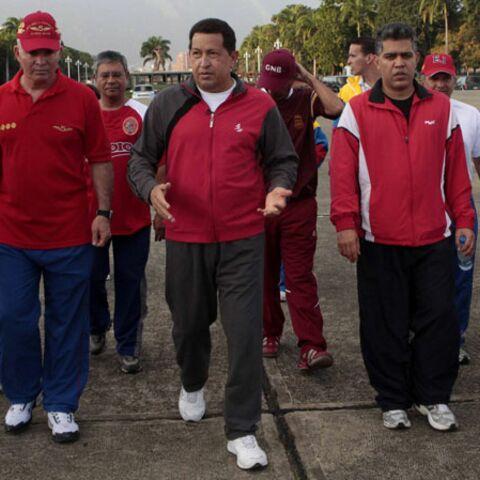 Vidéo – Hugo Chavez: une, deux, une deux!