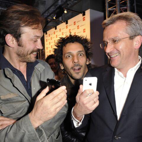 PHOTOS: Iphone ou Blackberry, le coeur des stars balance