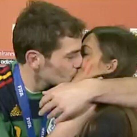 Espagne championne du monde: après la victoire, rien de mieux qu'un baiser!
