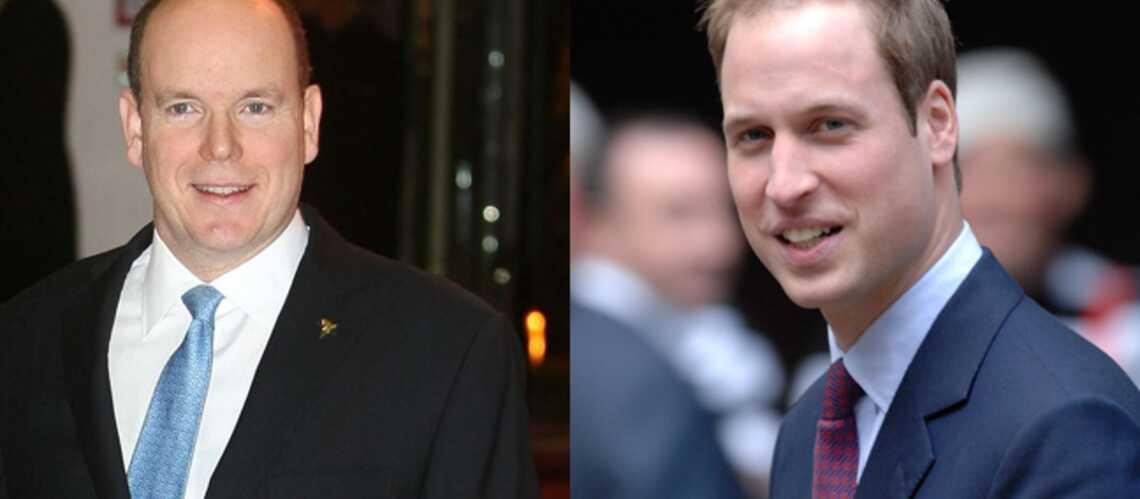 Le Prince William et Albert II de Monaco: pourquoi leur mère les a tant marqués
