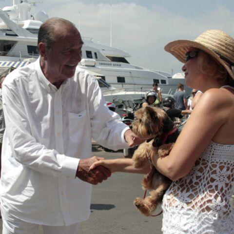 Jacques Chirac, 2e jour à St Tropez