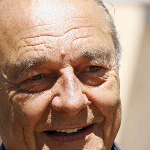 Jacques Chirac pas triste, à Saint-Tropez