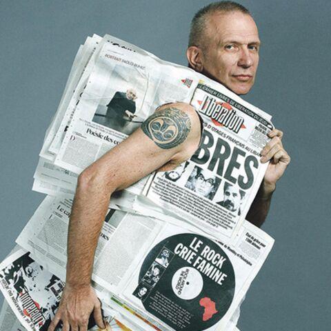 Jean-Paul Gaultier fait défiler les pages de Libération