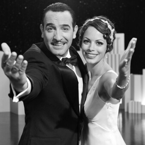 Jean Dujardin et Bérenice Bejo en bicolore