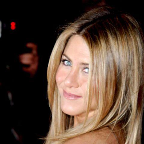 Jennifer Aniston: 2 millions à l'annulaire gauche